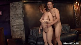 Threesome fuck with one hairy yet desirable horny Asian
