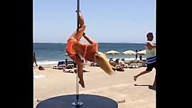 Anastasia Sokolova - The world's best pole dancer
