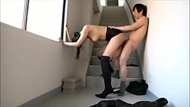 Tall japanese lady kisses and fuck her boy Soft Gentle femdom role reversal