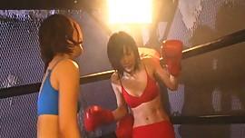 Japanese Girl Boxing (P3)