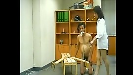 Old Cinese Femdom (Spanking, Slapping, Pissing, Strapon, Worshipping)