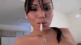 Smoking - Asian slut fucking