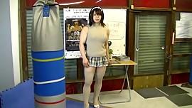 Cute Asian Muscle Girl 24