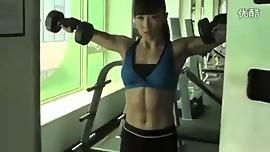 Asian Muscle Morgana M. presentation