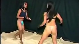 Asian rough catfight 2