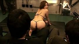 Experiment Show A Continuous Orgasm Public Curtain