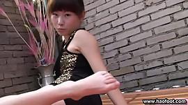Kimi foot tease