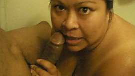 slut wife blowing my cock