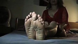 Asian milf foot tease. Hot as Fxxk. Delicious.