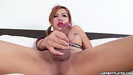 Jenny Asian Shemale Ladyboy in Jenny Has a Penis