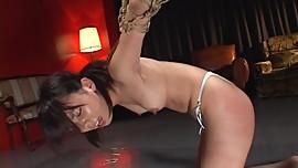 Rope Bondage Spanking Asian (Non-Nude)