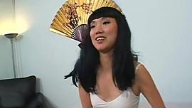 Skinny flat asian