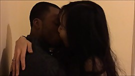 korean making out with black guy