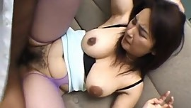 Yui Tokui sucks dongs and is drilled in hairy slit